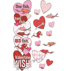 Eureka Dr. Seuss™ One Fish Two Fish Valentine's Day All-In-One Door Decor Kit (849331)