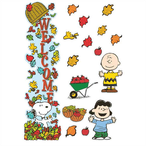 Eureka Peanuts® All-In-One Fall Door Decor Kit (849334)