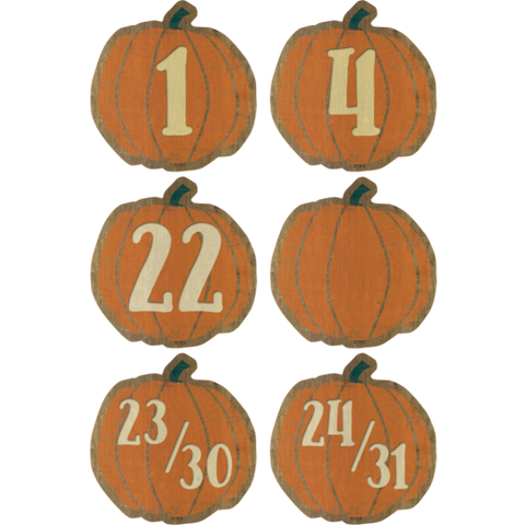 Teacher Created Resources Home Sweet Classroom Pumpkins Calendar Days (TCR8547)