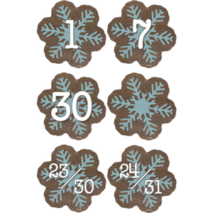 Teacher Created Resources Home Sweet Classroom Snowflakes Calendar Days (TCR8548)