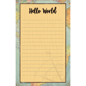 Teacher Created Travel the Map Notepad (TCR8566)