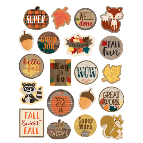 Teacher Created Resources Home Sweet Classroom Fall Stickers (TCR8581)