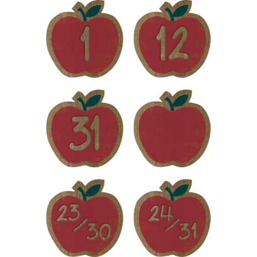 Teacher Created Resources Home Sweet Classroom Apples Calendar Days (TCR8701)