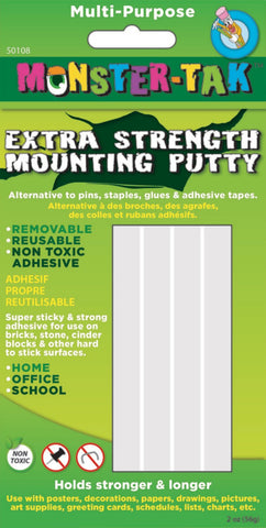 Ashley Monster Tak Extra Strength Mounting Putty (50108)