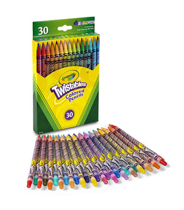 Crayola Twistables Colored Pencils, 30 Count (68-7409)