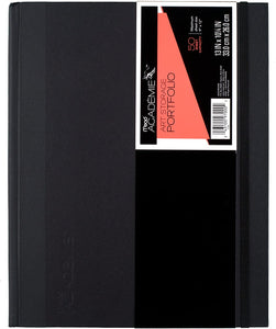 "Mead Academie Art Storage Portfolio, 9"" x 12"" Black (97000)"