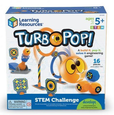 Learning Resources TurboPop! STEM Challenge (LER9292)