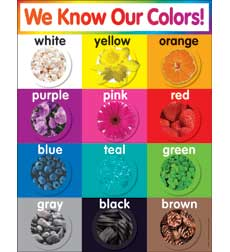 Scholastic Colors Chart (519639)
