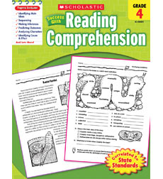 Scholastic Success with Reading Comprehension Grade 4 (SC-520081)