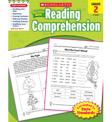 Scholastic Success with Reading Comprehension Grade 2 (SC-520083)