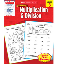 Scholastic Success with Multiplication & Division Grade 3 (SC-520087)