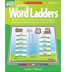 Scholastic Daily Word Ladders, Grades 4-6, Word Study Activities (SC-537488)