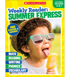 Scholastic Weekly Reader: Summer Express, Grades K, 1, 2, 3, 4