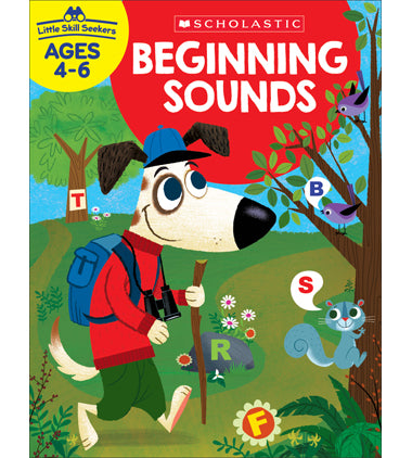 Scholastic Beginning Sounds Little Skill Seekers Workbook Ages 4-6 (SC-825556)