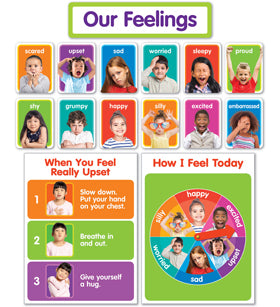 Scholastic Our Feelings Bulletin Board (834481)