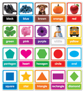 Scholastic Colors & Shapes in Photos Bulletin Board Set (834485)