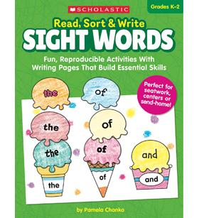 Scholastic Read, Sort, & Write Sight Words Workbook
