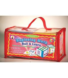 Carson Dellosa Beginning Math Roll & Learn Pocket Cubes Manipulative Grade K-2 (CD-140003)