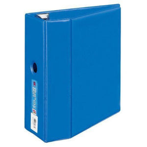 avery heavy duty 5 binder one touch ezd ring blue 79886