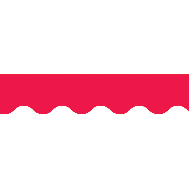 Poppy Red Wavy Border, 35 Ft Per Package