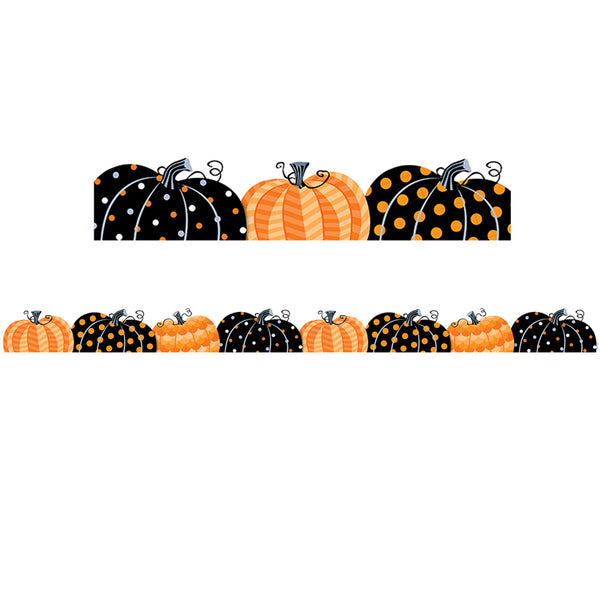 "Creative Teaching Press Pumpkin Patch Border, 2.75"" x 35' (CTP8405)"