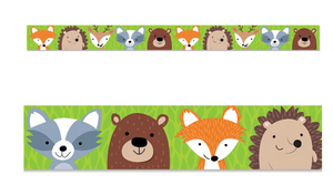 Creative Teaching Press Woodland Friends Border (CTP8384)