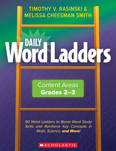 Scholastic Daily Word Ladders, Grades 2-3, Word Study Activities
