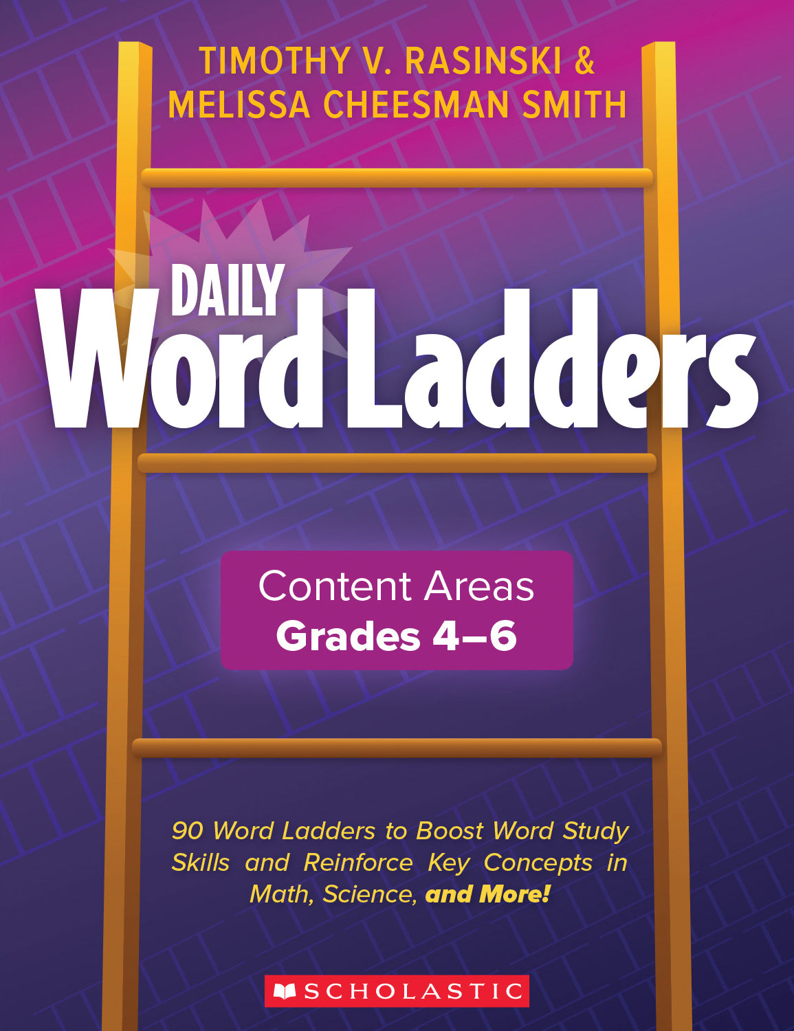 Scholastic Daily Word Ladders, Grades 4+ Word Study Activities