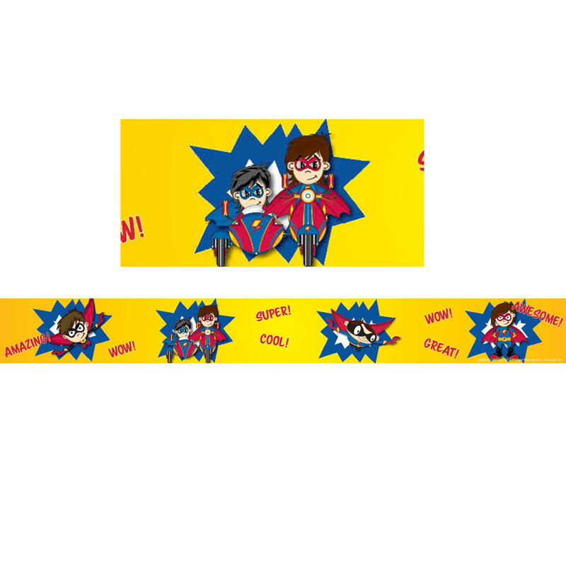 Superhero Border Trim, 36 Feet