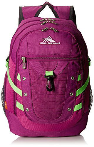 High Sierra Tactic Backpack - Berry Blast, Razmatazz