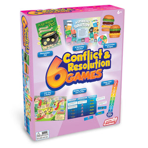 Junior Learning 6 CONFLICT & RESOLUTION GAMES Ages 6+ (JL415)