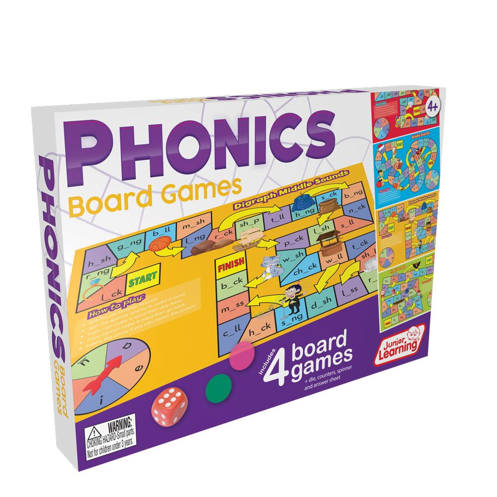 Junior Learning PHONICS Board Game (JL422)