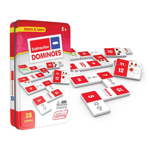 Junior Learning Subtraction Dominoes Math Game (JL482)