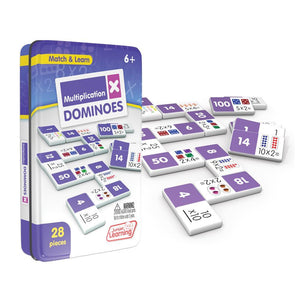 Junior Learning Multiplication Dominoes Math Game (JL483)