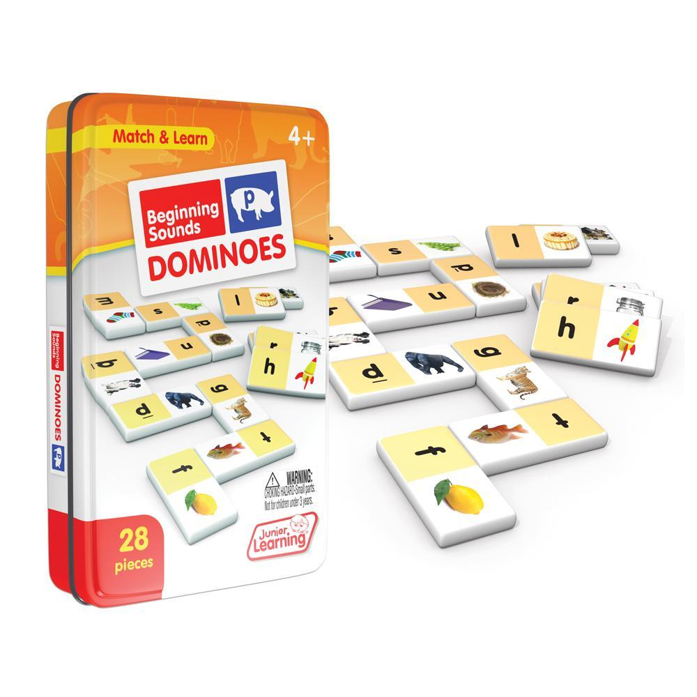 Junior Learning Beginning Sounds Dominoes Game (JL492)