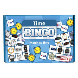 Junior Learning TIME Bingo Game Ages 5+ (JL548)