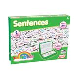 Junior Learning Rainbow Magnetic Sentences Pop-Up Box w/ Magnetic Board (612)