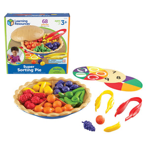 Learning Resources Super Sorting Pie, Counting & Colors (LER6216)