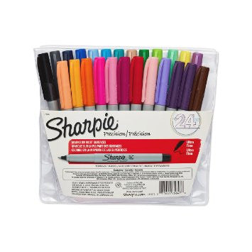 Sharpie Ultra-Fine-Point Permanent Markers, 23-Pack Colored Markers (75847)