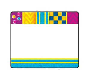 Snazzy Terrific Self-Adhesive Name Tags Labels, 36 Count  (T-68092)