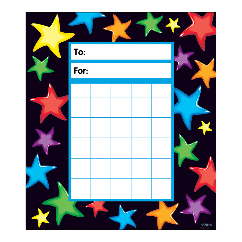 Trend Enterprises Gel Stars Incentive Pads (T-73052)