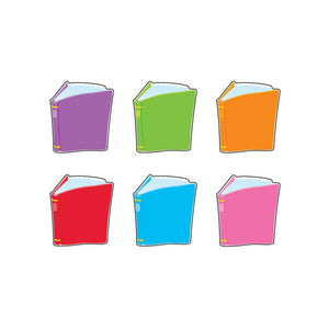 Trend Enterprises Bright Books Mini Accents Variety Pack, 36 Pack (T-10821)