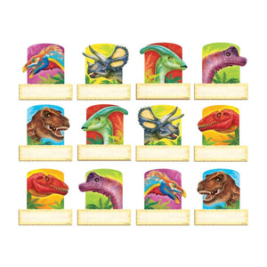 Trend Enterprises Discovering Dinosaurs Mini Accents Variety Pack, 36 Pack (T10868)
