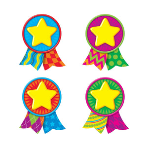 Trend Enterprises Star Medals Mini Accents Variety Pack, 36 Pack (T-10879)