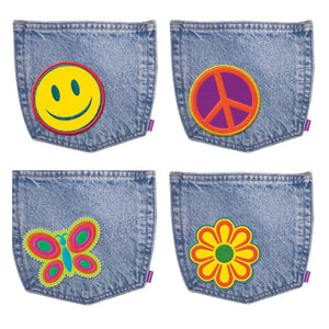 Trend Enterprises Jazzy Jean Pockets Accents Variety Pack, 36 Pack (T-10988)