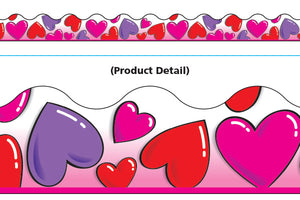 Trend Party Hearts Terrific Trimmers Borders 39' (T91300)