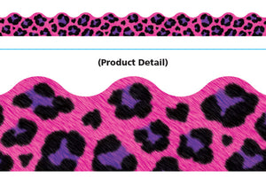 Leopard Pink Terrific Trimers Borders 39' T92846
