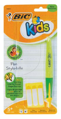 Bic Kids Ergonomic Stylo-bille Pen,  Proper Finger Position
