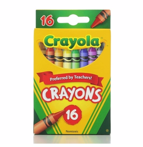 Crayola® Crayons (16 Count Box)
