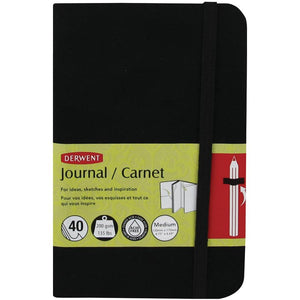 Derwent Sketch Journal 135# Paper, Medium Size, 40 Acid Free Pages